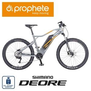 Alu-Elektro-Mountainbike Graveler 8.0 27.5er, Preis für vormontierte Räder • Fahrunterstützung bis ca. 25 km/h • 5 Unterstützungsstufen • AEG Li-Ionen Akku 48 V/10,4 Ah, 499 Wh • Reic