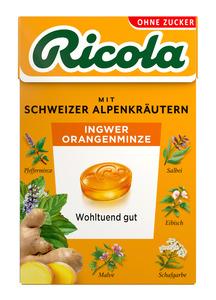 Ricola Orangenminze Box
