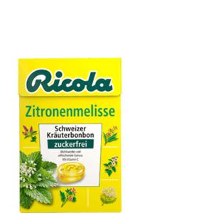 Ricola Zitronenmelisse Bonbons zuckerfrei 50g