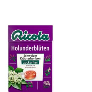 Ricola Holunderblüten Bonbons zuckerfrei 50g
