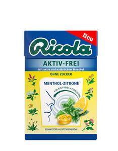Ricola Aktiv-Frei Menthol Bonbons 50g