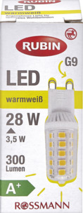 RUBIN LED G9