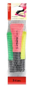 STABILO Neon Textmarker 3er Pack
