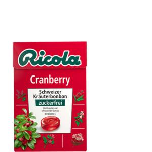 Ricola Cranberry Bonbons zuckerfrei 50g