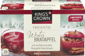 KING'S CROWN Früchtetee Winter Bratapfel