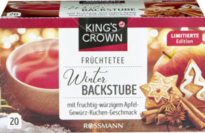 KING'S CROWN Früchtetee Winterbackstube