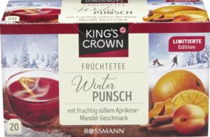 KING'S CROWN Früchtetee Winterpunsch