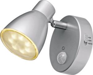IDEENWELT LED-Steckdosenspot silber