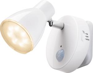 IDEENWELT LED-Steckdosenspot weiss
