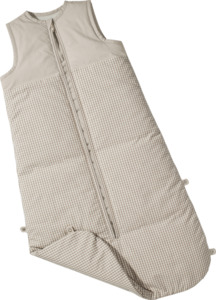 IDEENWELT Baby-Schlafsack Vichy Karo Gr. 90-110 cm