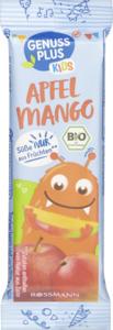 GENUSS PLUS KIDS Bio Früchteriegel Apfel-Mango