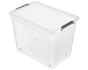 Clip-Box Lars ca. 80l transparent