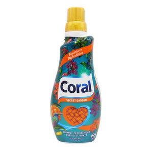 "Coral Flüssigwaschmittel Color ""Secret Garden"""