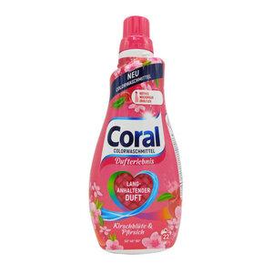 """Coral Flüssigwaschmittel Color """"Kirschblüte & Pfirsich"""""""