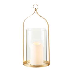 ProVida LED Glaslaterne inkl. Kerze 32 cm