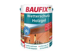 BAUFIX Wetterschutz-Holzgel, 5 Liter