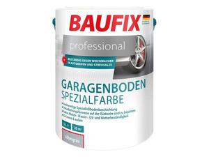 BAUFIX professional Garagenboden Spezialfarbe silbergrau, 5 Liter