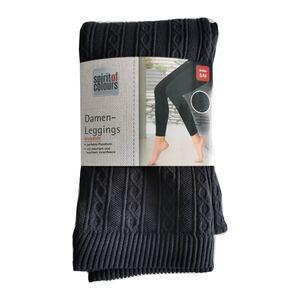 SoC Damen Thermoleggings - grau melange - Gr. S/M - versch. Farben & Größen
