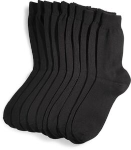 SoC Herren-Socke 10er Pack, GOTS - schwarz - Gr. 39/42 - versch. Farben & Größen
