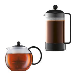 BODUM     Kaffeebereiter Brazil / Teebereiter Assam