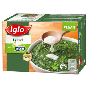 Iglo Spinat mit Alpro 550g