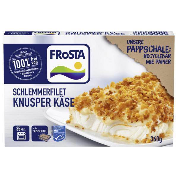 Frosta Schlemmerfilet Knusper Käse MSC 360g