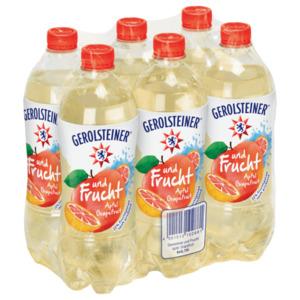 Gerolsteiner und Frucht Apfel Grapefruit 6x0,75l