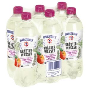 Gerolsteiner Kräuterwasser Apfel-Melisse-Lavendel 6x0,75l