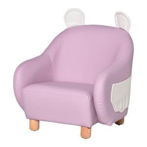 Homcom Sofa Wasserdicht, weiche Polsterung rosa