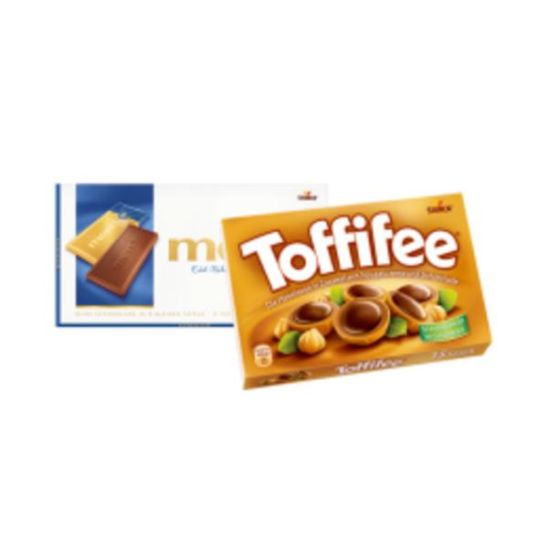 Merci Tafelschokolade oder Toffifee