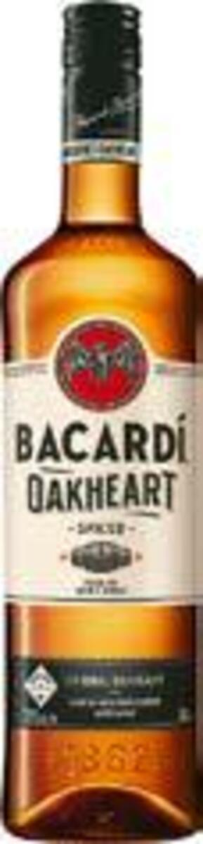 Bild 1 von Bacardi Rum oder Bacardi Oakheart