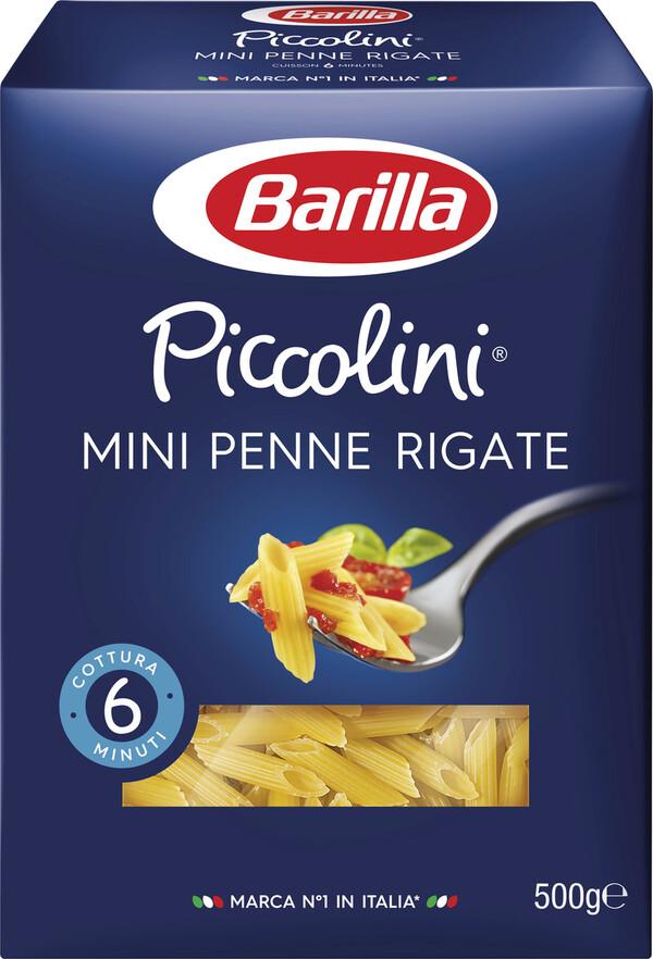 Barilla Nudeln Piccolini Mini Penne Rigate 500G