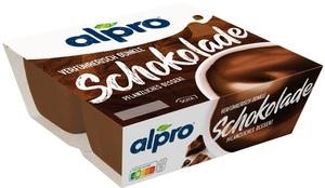 Alpro Soya Dessert Dunkle Schokolade feinherb 4x125G