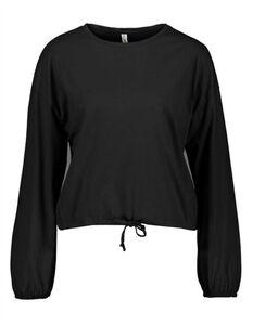 Damen Langarmshirt - Regulierbarer Saum