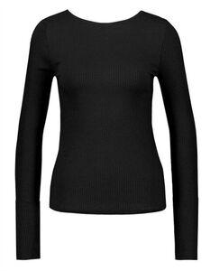 Damen Langarmshirt - Viskose-Mix