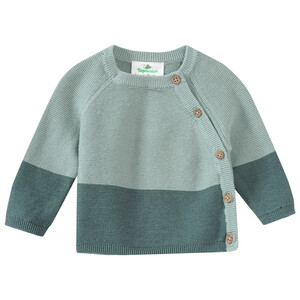 Newborn Pullover mit Knopfleiste
