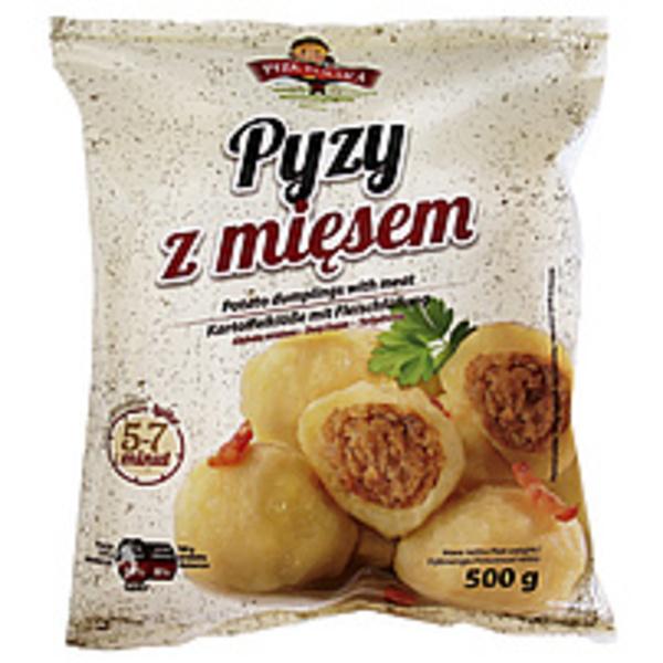 """Kartoffelklöße mit 20% Fleischfüllung """"Pyzy z miesem"""", tiefg..."""