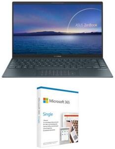"ZenBook 14 UX425EA-HA181T 35,56 cm (14"") Notebook pine grey inkl. 365 Single FPP"