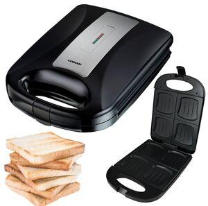 Melissa 16240104 XXL 4 Fach-Sandwichtoaster. Melissa - Family XXL Sandwich Maker,1200 Watt