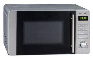 Exquisit Mikrowelle MW 8020 H   800 Watt   Grill   Inox