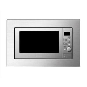 respekta Mikrowelle Unterbaumikrowelle Stand Unterbau Microwelle silber 700 watt