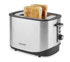 Korona 21252 Toaster edelstahl-schwarz 920W