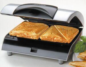 Steba SG20 Sandwichmaker Silber