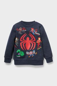 C&A Marvel-Sweatshirt, Blau, Größe: 98