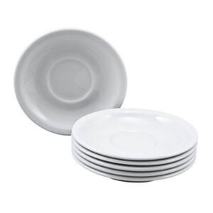 6 Seltmann Weiden Untertassen Compact weiß