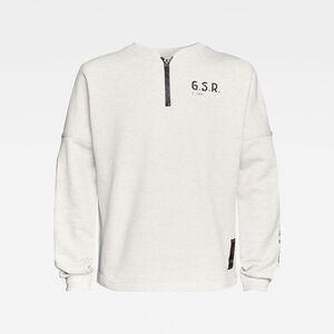 E Sleeve Graphic Sweatshirt