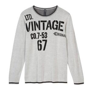 Herren-Pullover in Vintage-Design