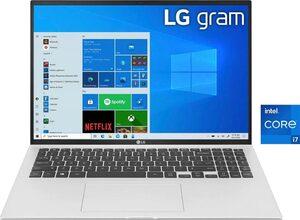 LG gram 17 17Z90P-G.AA79G Notebook (43,18 cm/17 Zoll, Intel Core i7, Iris Xe Plus Graphics, 1000 GB SSD, Kostenloses Upgrade auf Windows 11, sobald verfügbar)