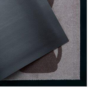 Fußmatte »Hund«, my home, rechteckig, Höhe 5 mm, Schmutzfangmatte, mit Spruch