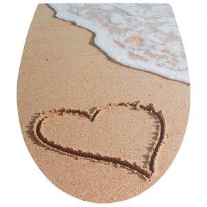 WC Sitz, Herz im Sand